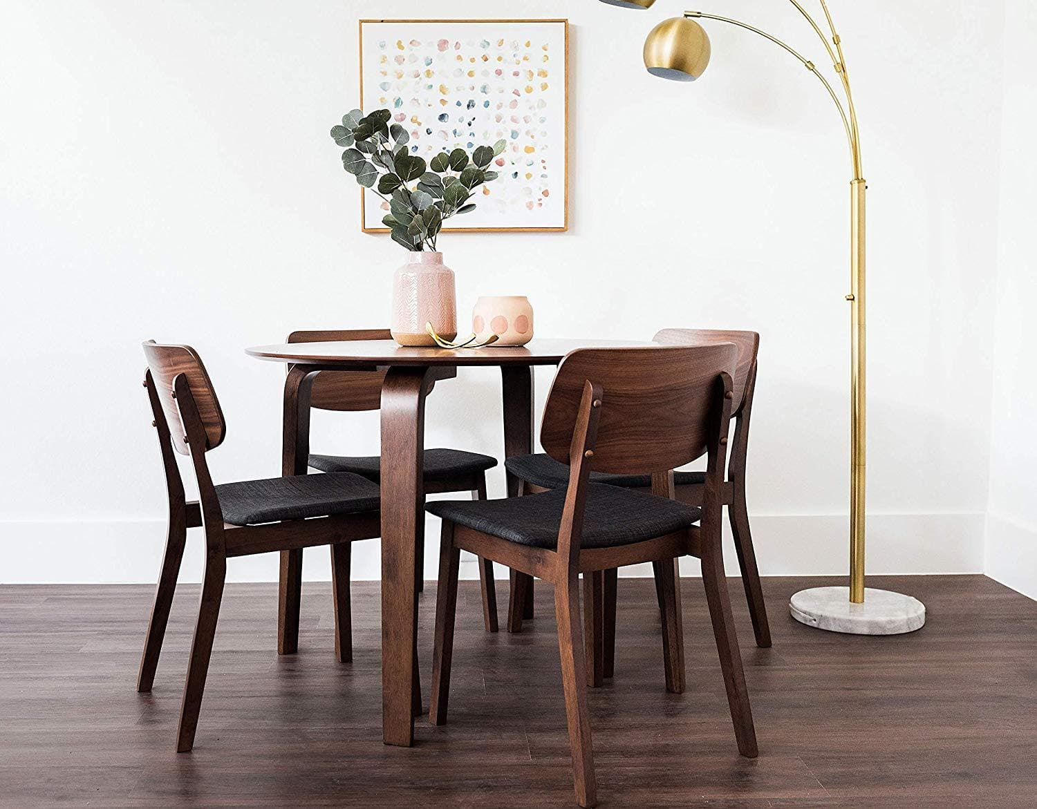 Dade Jackson 5 Piece Dining Table Set For 4 Small Kitchen Table Edloe Finch Furniture Co