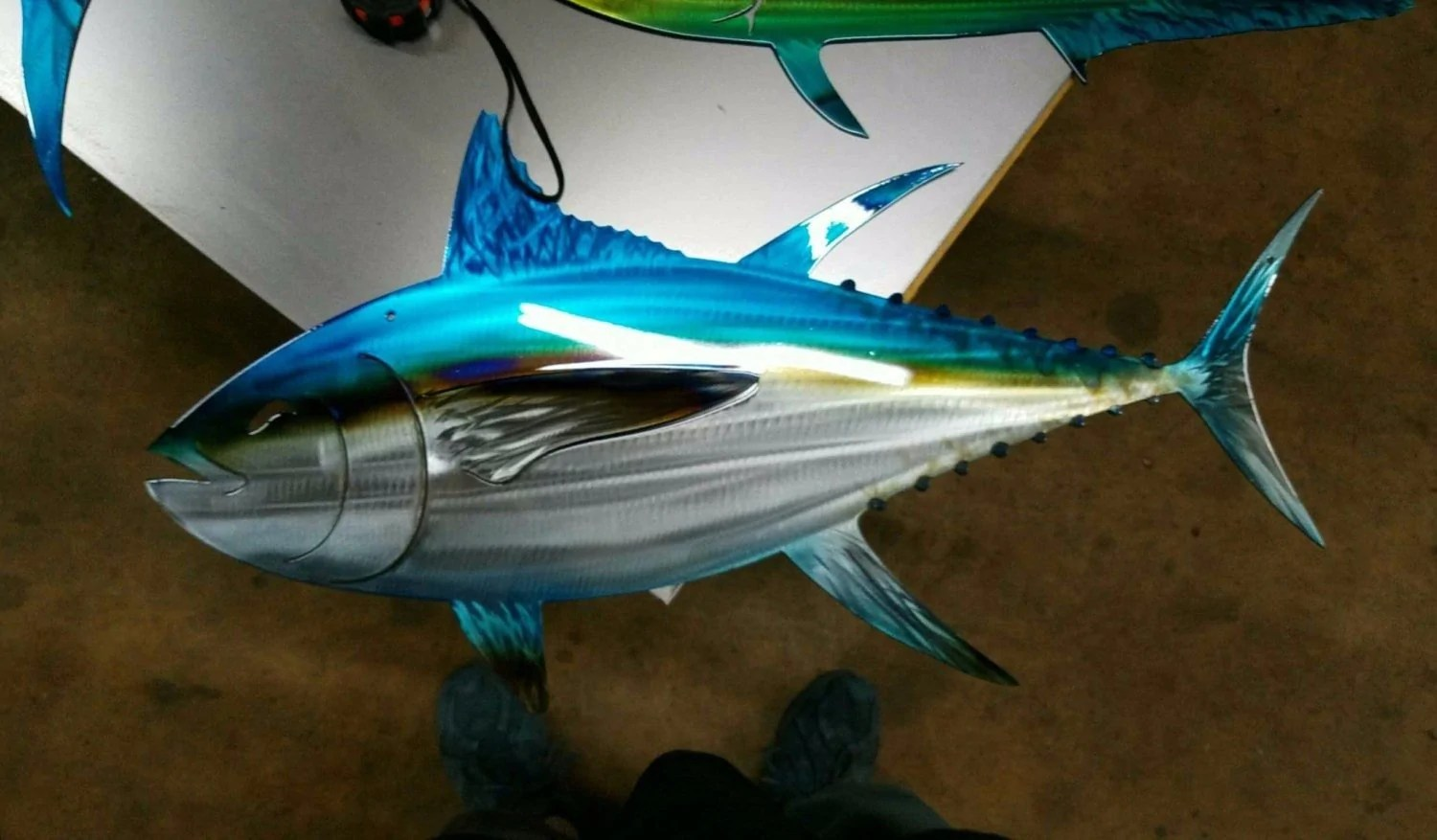 hight resolution of tuna metal art fish tunafish metal art made of high quality aluminum