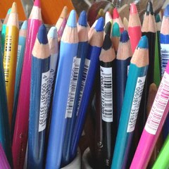 Chalk Pencils for Art Journals