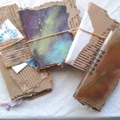 Art and Junk Journal in Progress