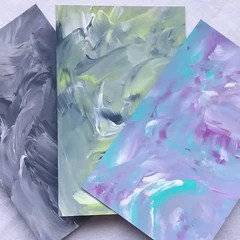 Painted Background Shiny Designs