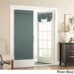 River French Door Curtain Single Panel Glass Door Patio Door Curtains Diamond Home
