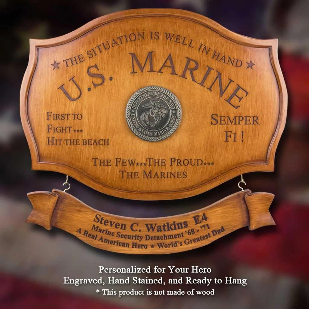 u s marines service