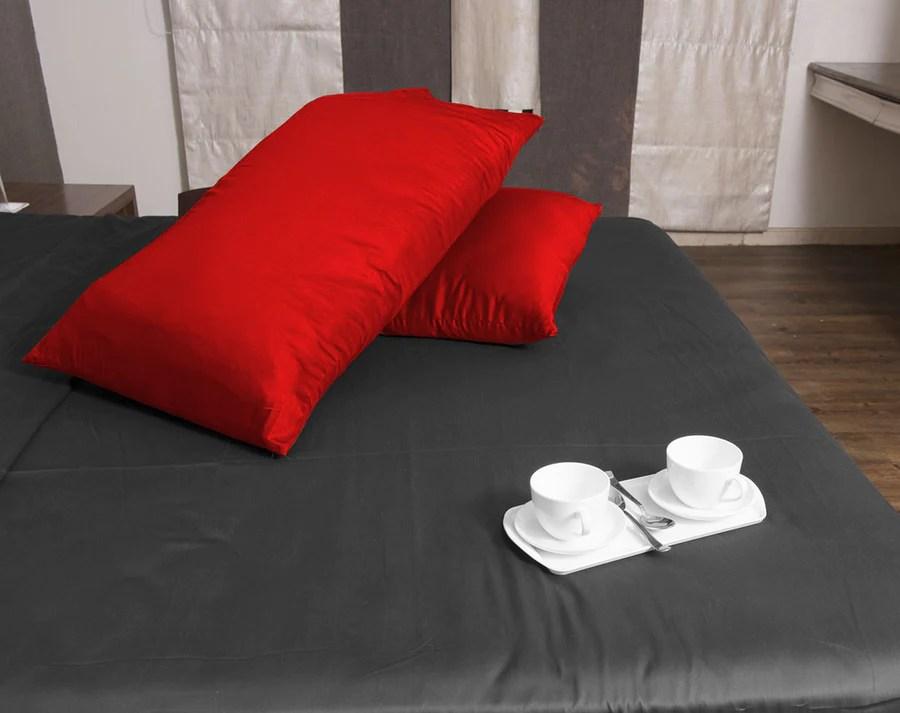 luxury red pillowcases aanyalinen