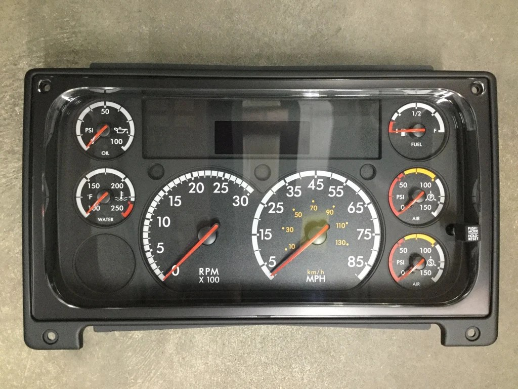 hight resolution of gauge cluster freightliner columbia century 5 gauge