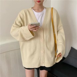 aesthetic korean cardigan solid colors knitted itgirl basic