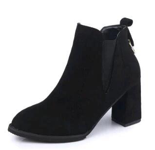 Solid Black Non Slip Shoes
