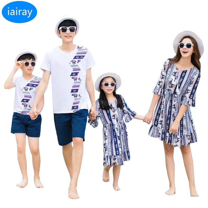 iairay family matching outfits