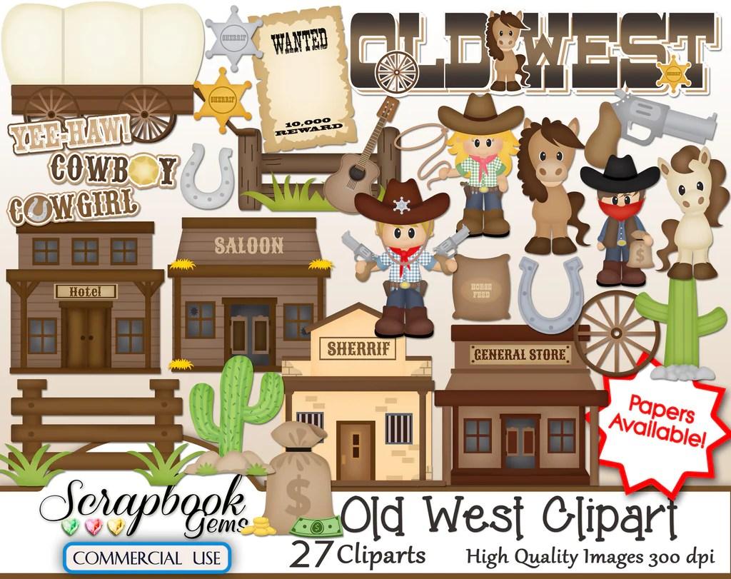 wild west clipart [ 1024 x 811 Pixel ]