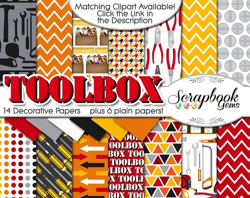 toolbox digital papers [ 1024 x 811 Pixel ]