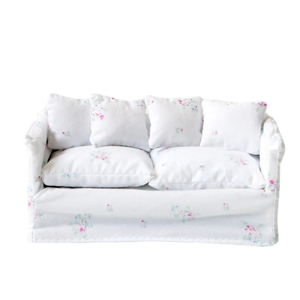 Dollhouse Furniture Slipcover Sofa Rachel Ashwell