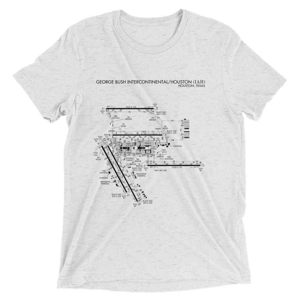 houston intercontinental airport diagram men s t shirt radarcontact atc memes [ 1000 x 1000 Pixel ]