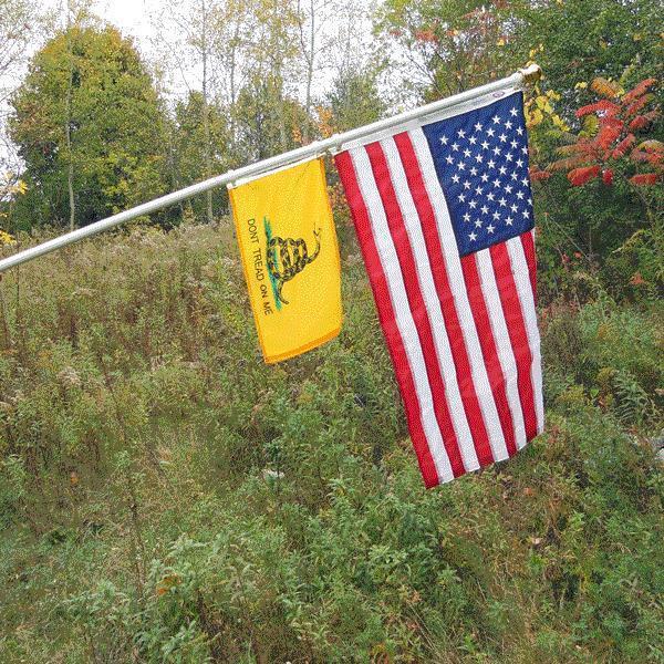 the largest gadsden flag