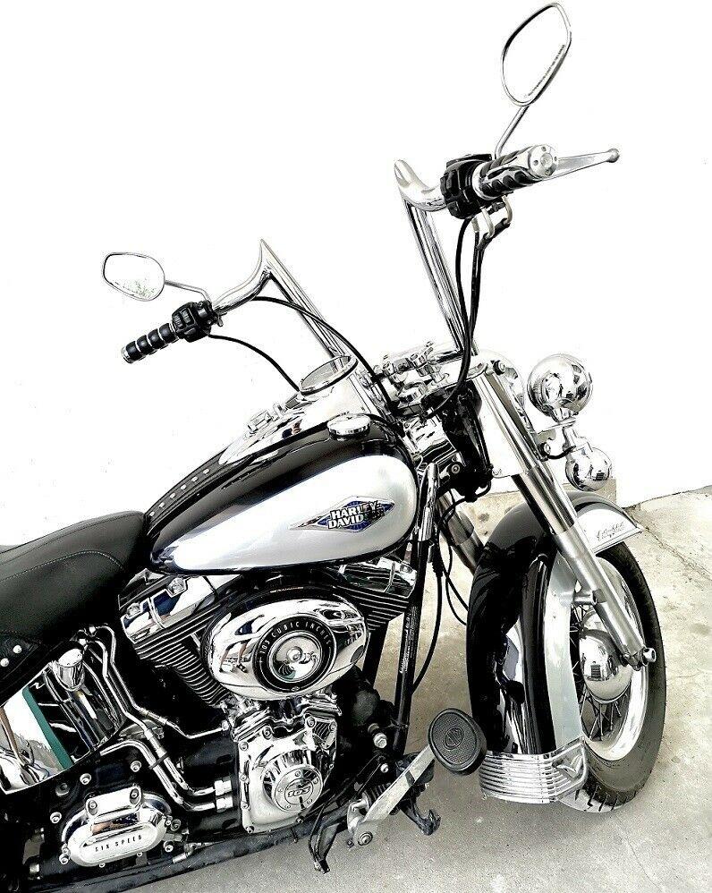 Harley Softail Ape Hangers : harley, softail, hangers, Demon, Horns, 1-1/2
