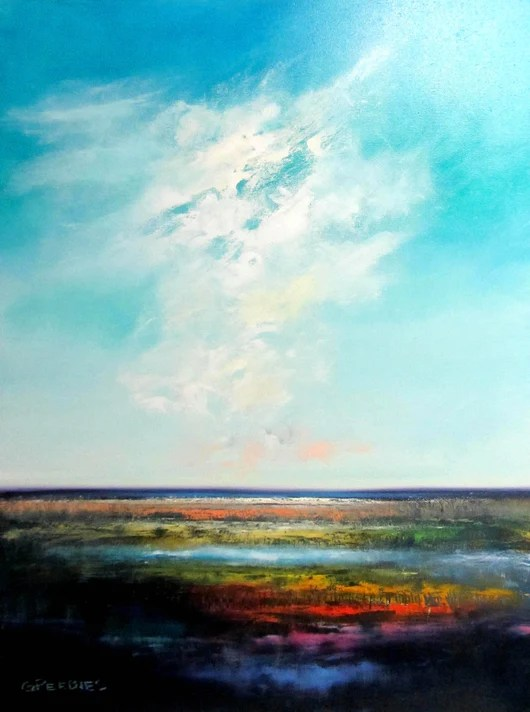 Sky Oil Painting : painting, Painting, Effect, Gallery