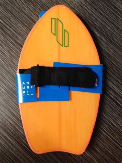 hydro hand surfer bodysurfing