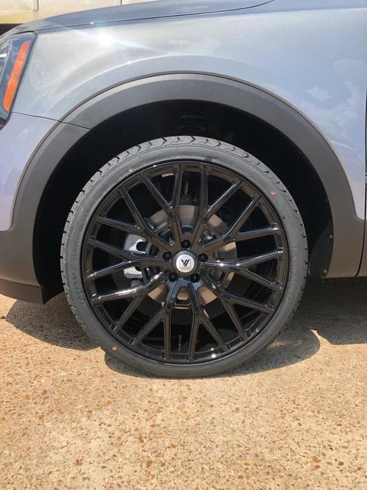 Kia Telluride 22 Inch Rims : telluride, Telluride, Wheel, Package, Simotorsports