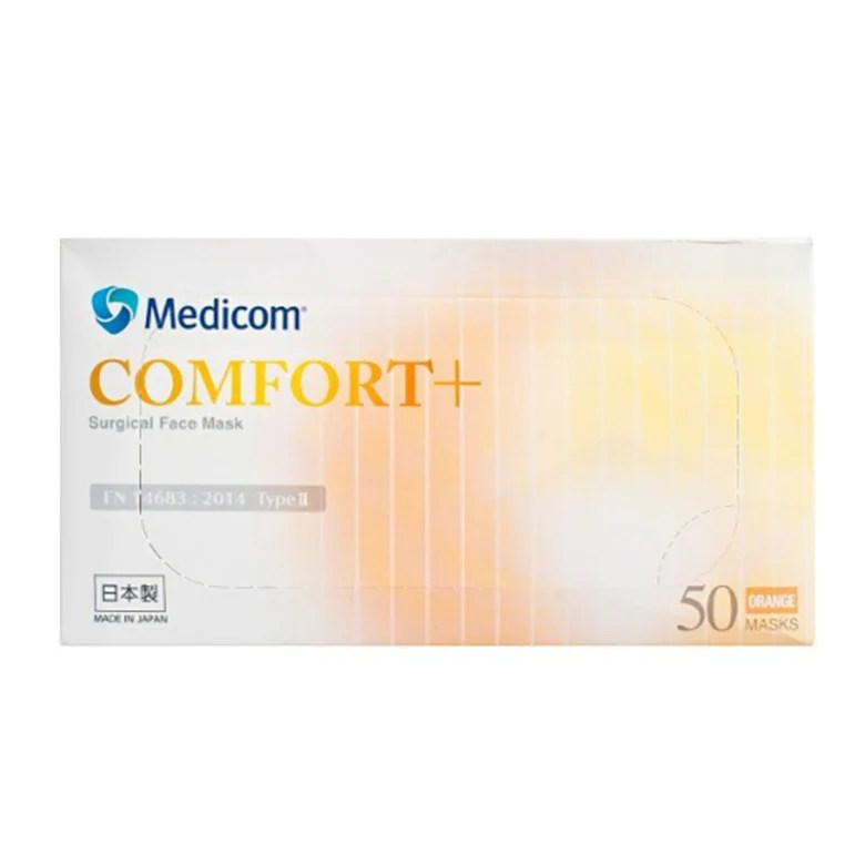 Medicom Comfort+ 醫用(非獨立包裝)耳掛口罩 (50包/盒)   mamaishop