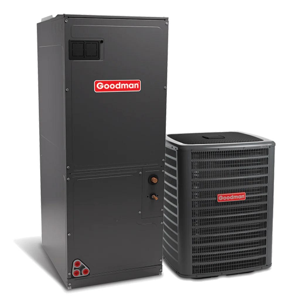 goodman 2 5 ton 16 seer variable fan heat pump system diy comfort depot wiring goodman 16 seer heat pump system heat pumps [ 1024 x 1024 Pixel ]