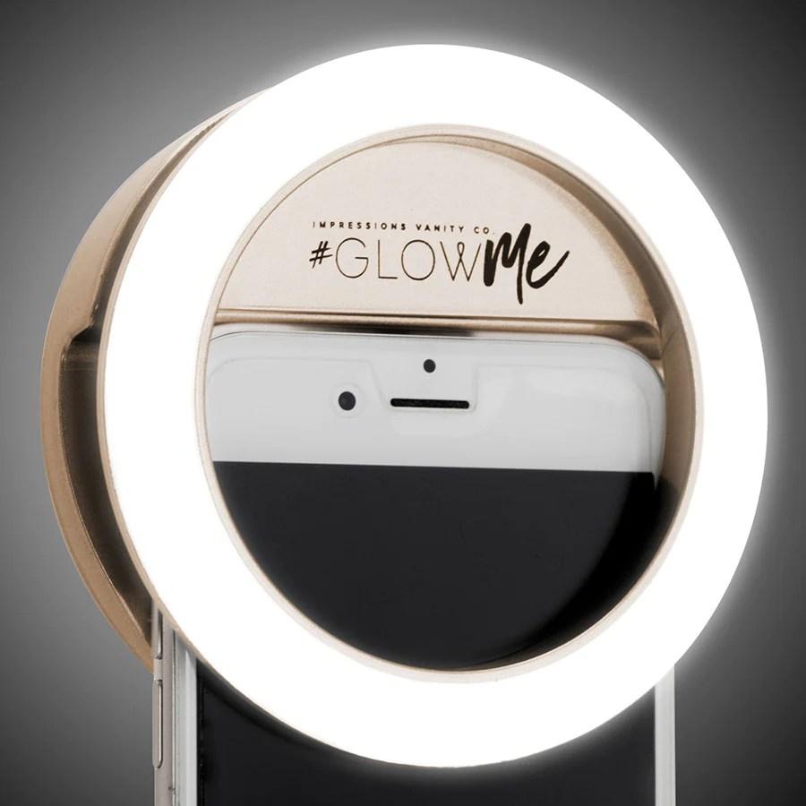 Impressions Vanity GlowMe 20 LED Selfie Ring Light For