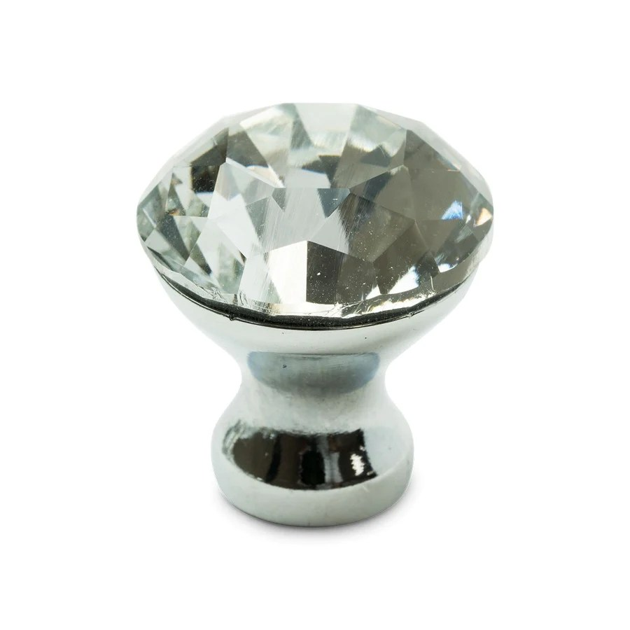 Crystal Lux Drawer Knobs - Bling Alex &