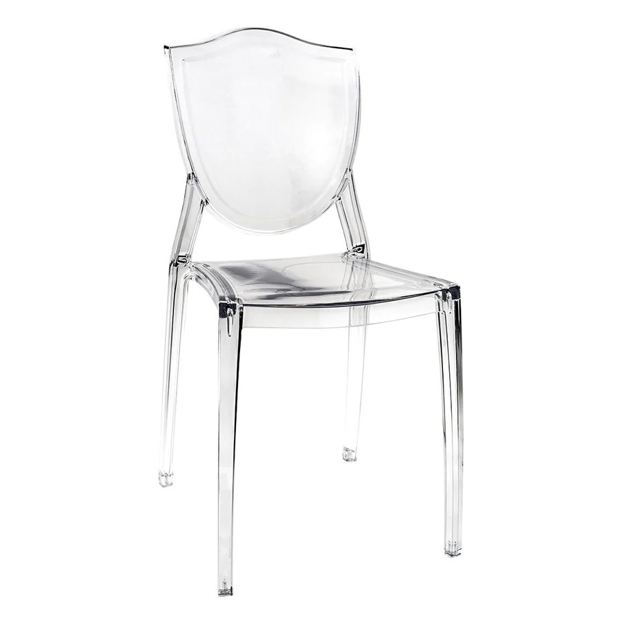 Clear Vanity Chair Shoptagr Cristal Cresta Ghost Style Vanity Chair By Impressions