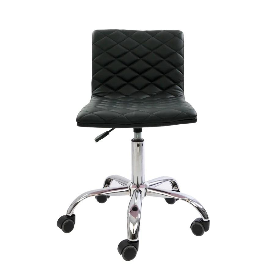 Eliza Diamond Quilted Vanity Chair  Impressions Vanity Co