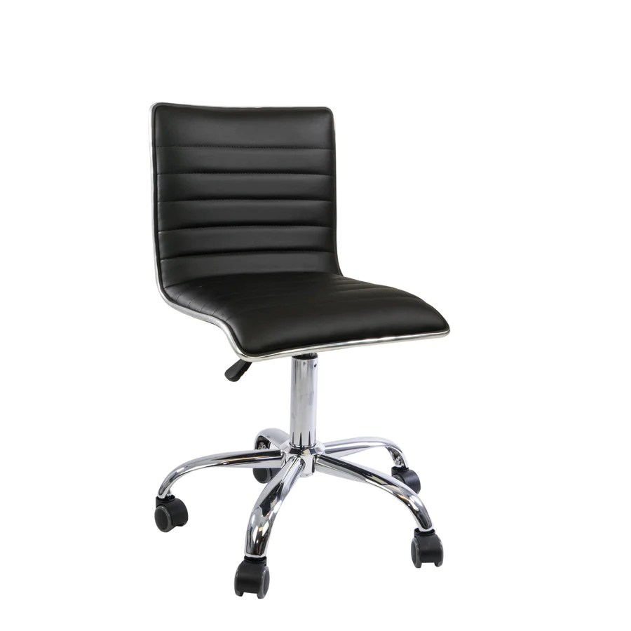 Zara Modern Quilted Vanity Chair  Impressions Vanity Co