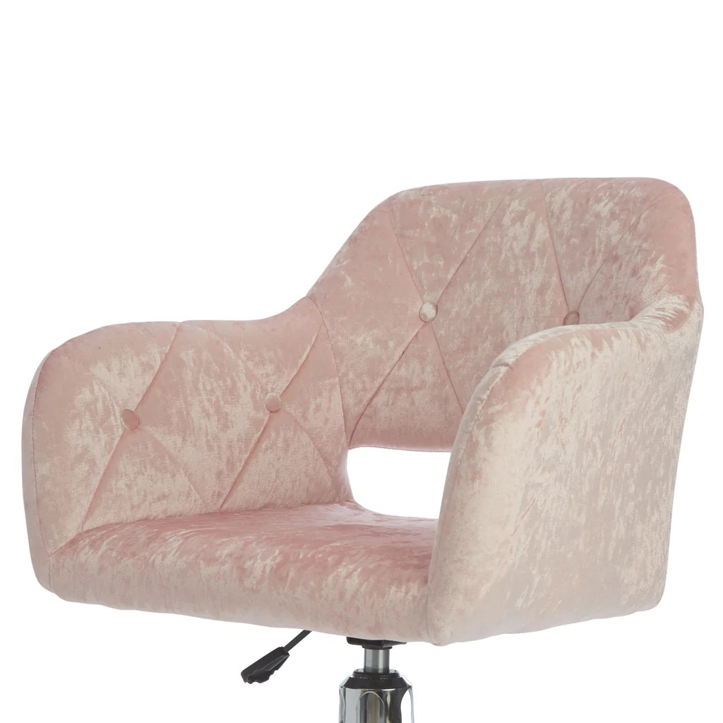Tufted Vanity Chair Brittney Tufted Leatherette Vanity Chair