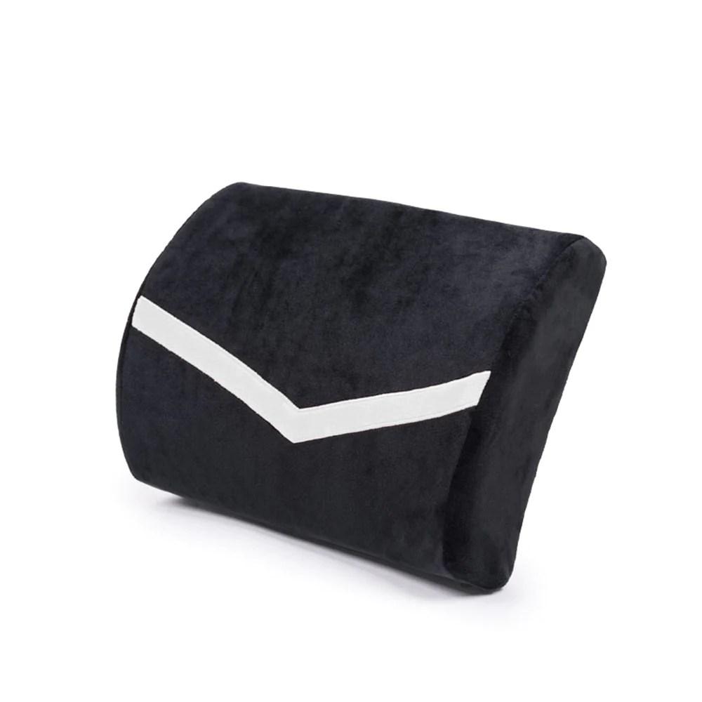 secretlab velour memory foam lumbar pillow s