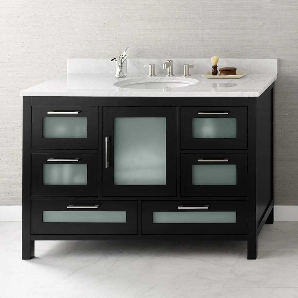 48 Athena Bathroom Vanity Cabinet Base  Ronbow