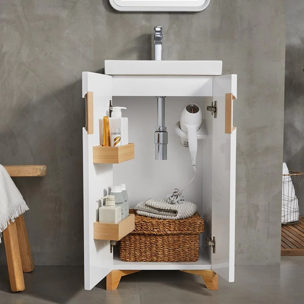 18 Aravo Petite Bathroom Vanity