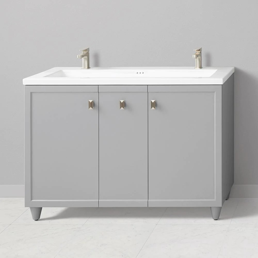48 Bathroom Vanity Cabinet Double Bathroom Vanities