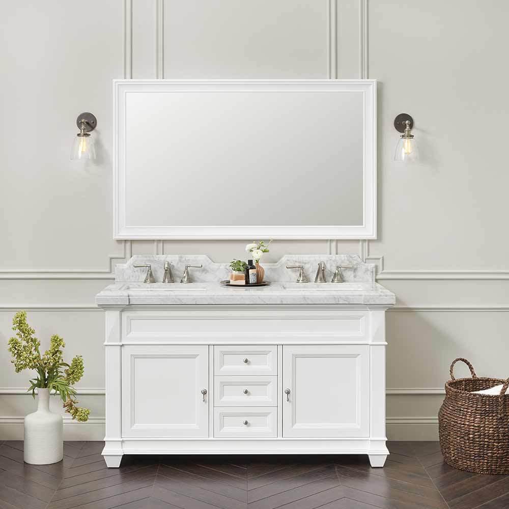 60 Torino Bathroom Vanity Cabinet Base
