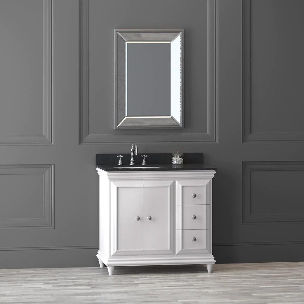 36 Genova Bathroom Vanity Cabinet Base