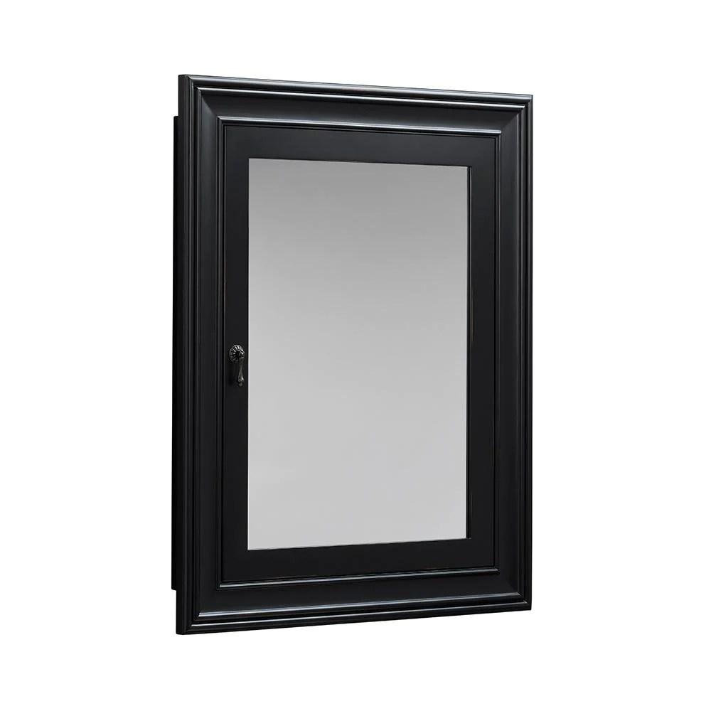 27 William Traditional Solid Wood Framed Medicine Cabinet