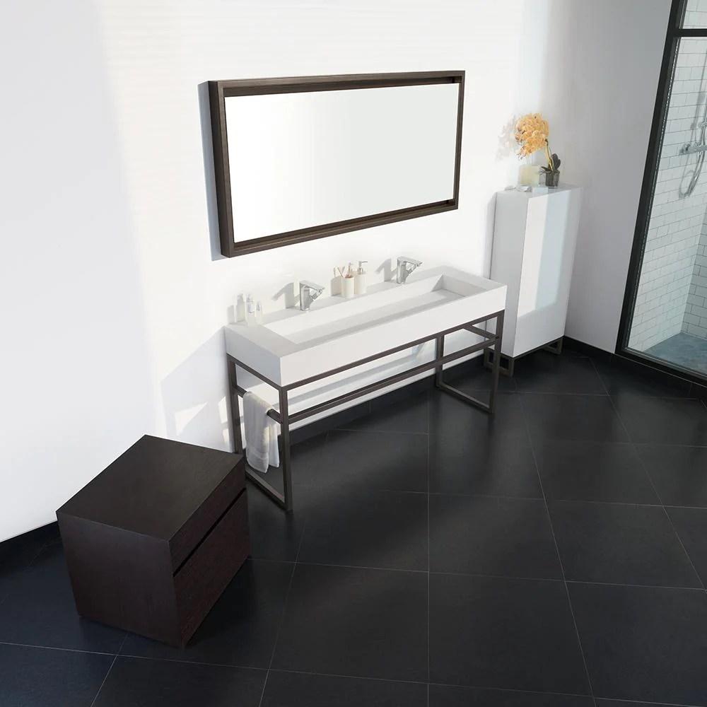 63 Marco Metal Bathroom Vanity Frame Base for Double Sink