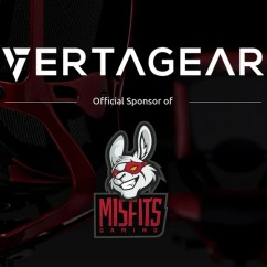 Lcs Gaming Chair Patio Cushion Replacements New Esports Partnership With Misfits Vertagear