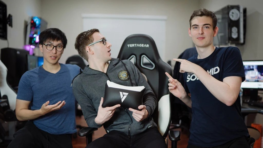 lcs gaming chair seat cushions for office chairs target new partnership with team solomid vertagear