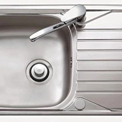 Kitchen Sink Disposal Curtains Kohls Stopper Brushed Stainless Steel Garbage Drain Fits Kohler Insinkerator Waste King Others By Essential Values