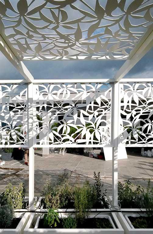 Terrace Gazebo Logical Space Design