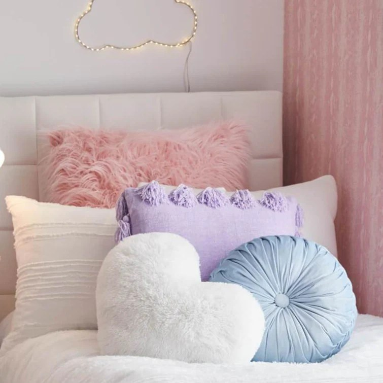 https www dormify com products round tufted velvet throw pillow