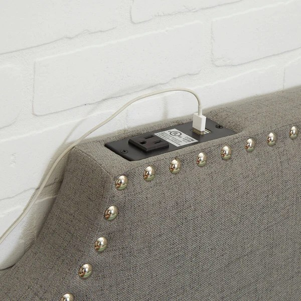 TwinTwin XL Powered Headboard Dormify