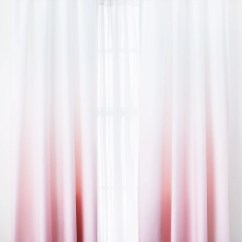 Kitchen Curtains For Sale Used Sinks Pink Ombre Window Panel Set Of 2– Dormify