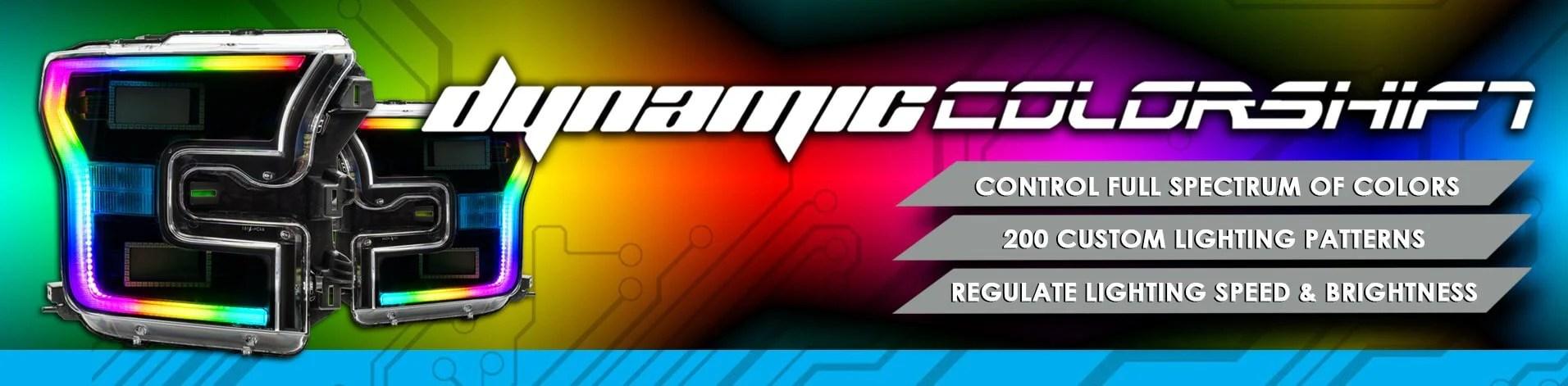 medium resolution of dynamic colorshift halo kits