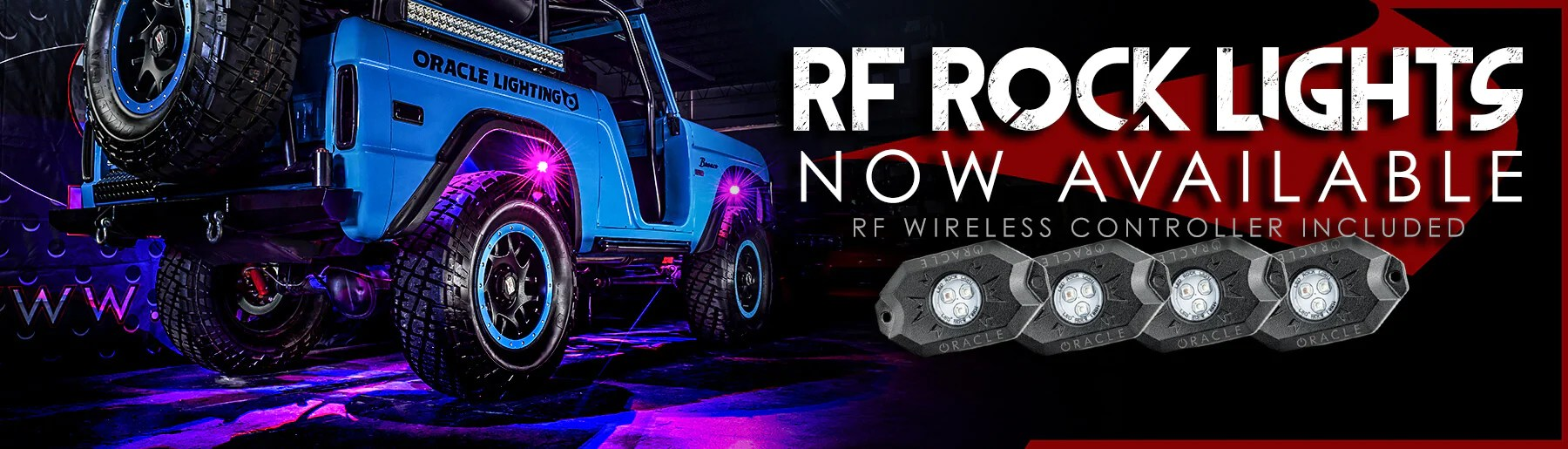 off road underbody led rock lighting kits  [ 1800 x 515 Pixel ]