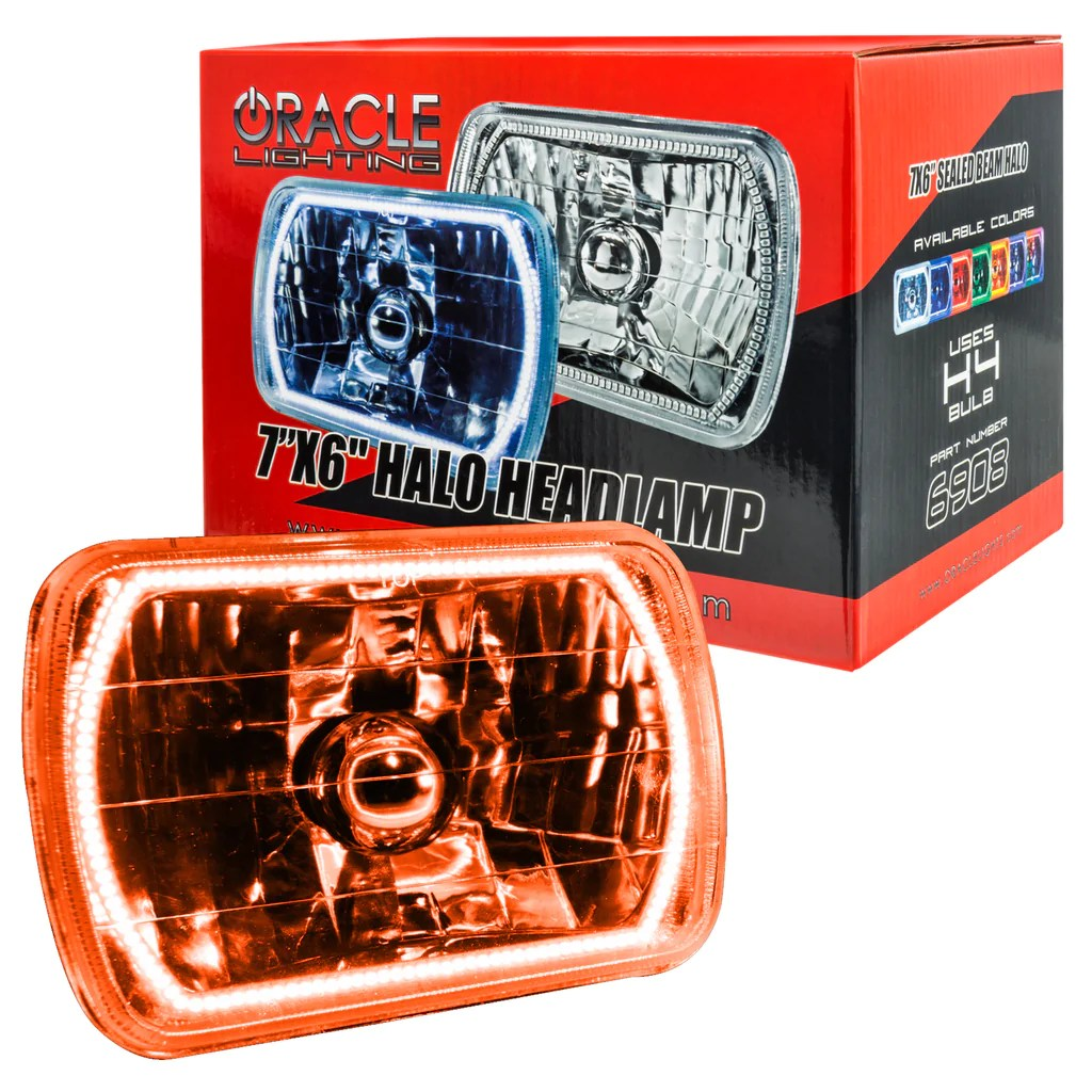 hight resolution of  1978 1986 ford f 150 oracle pre installed 7x6 sealed beam headlight