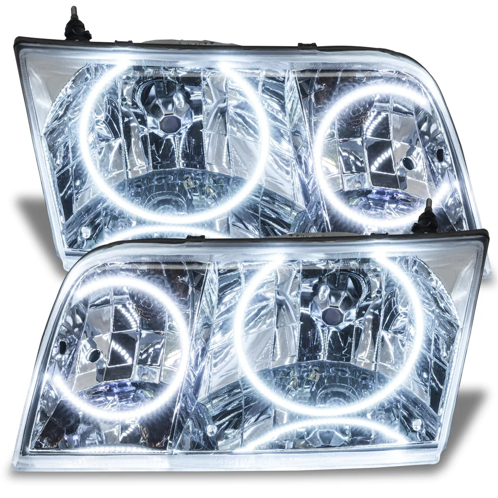 hight resolution of ford crown victoria white led headlight