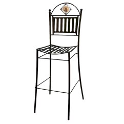 Iron Chair Price 1 2 With Ottoman Shop By 501 To 1000 Tagged Artistica Com Palio Di Siena Wrought Tall Bar Pub 41 H