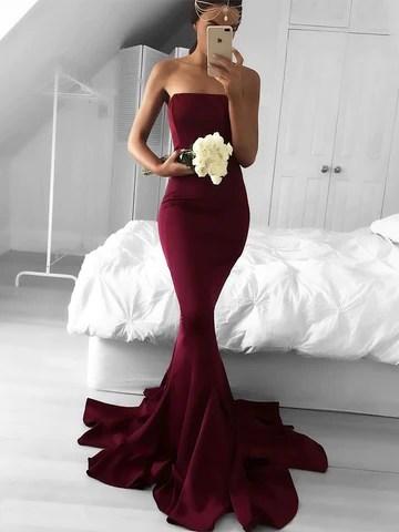 Trumpet/Mermaid Jersey Sleeveless Ruffles Dresses